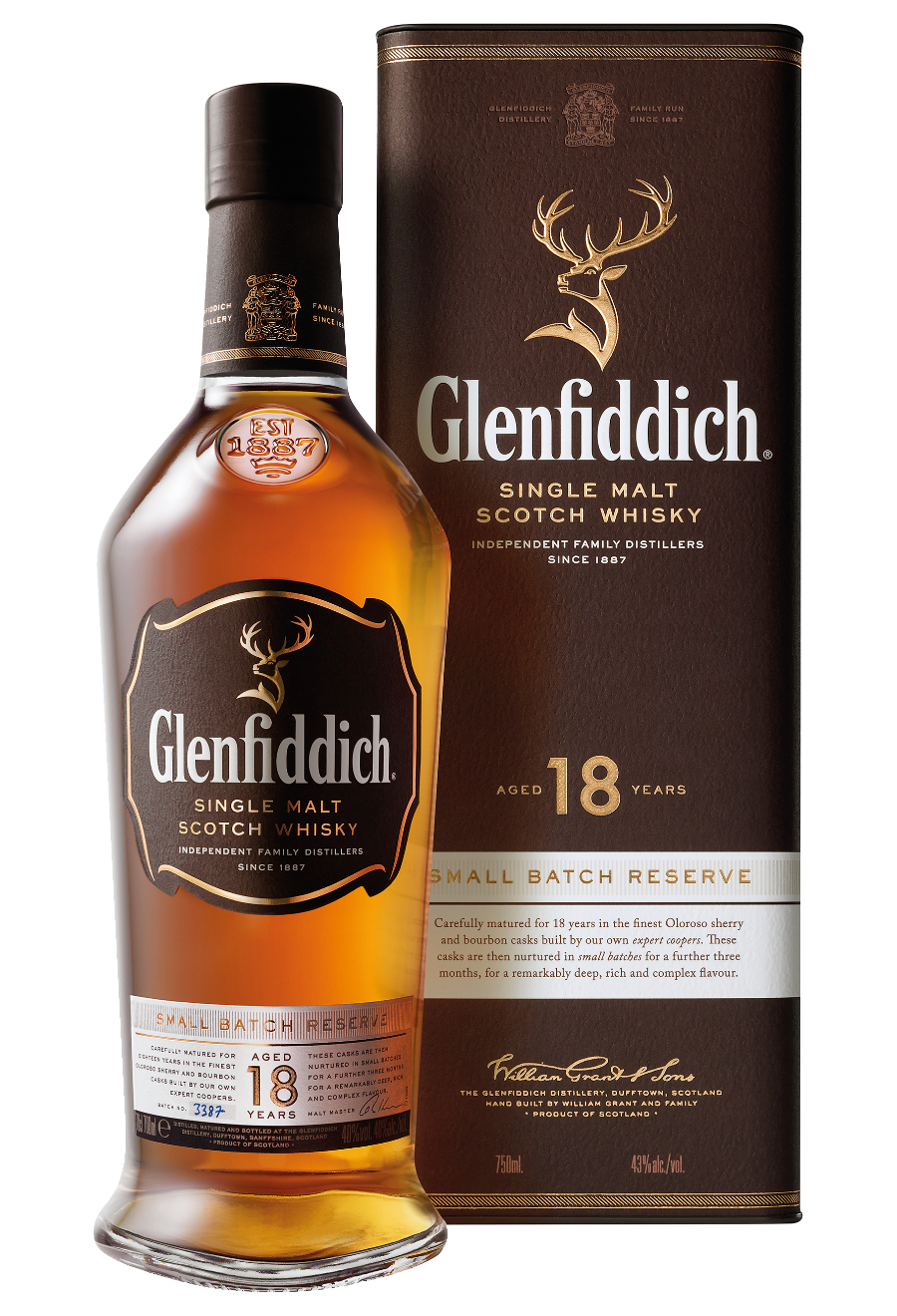 Glenfiddich 18 Years Old 0,7l