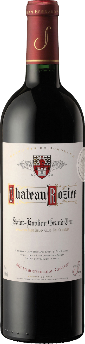 Chateau Rozier, Grand Cru