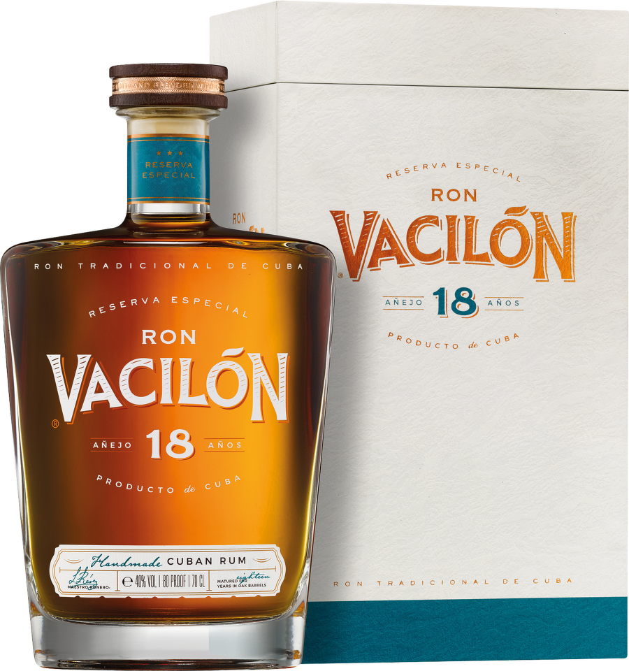 Ron Vacilón 18 Years Old Reserva Especial, Cuban Rum 0,7 L