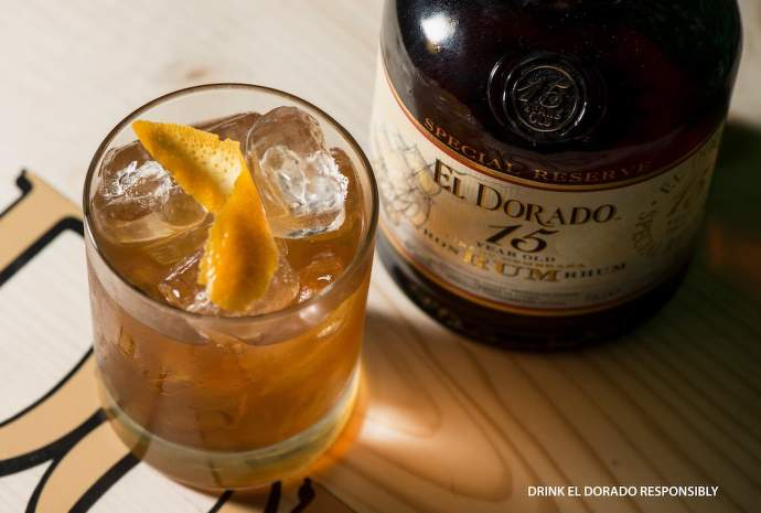 Drink El Dorado Old Fashioned